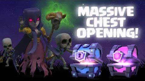 OPENING ALL CHESTS! Can we unlock the Night Witch? Clash Royale ♥ MASSIVE CHEST OPENING MAGICAL