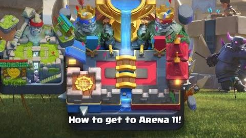 Clash Royale • How to get to Legendary Arena! (Arena 11) (Easy Fast!)