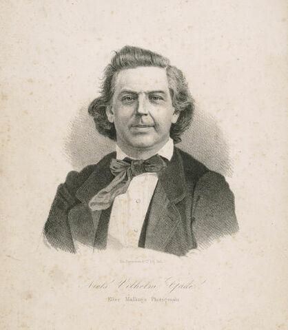 File:Drawing of Niels Wilhelm Gade.jpg