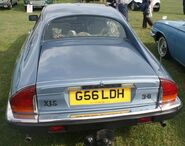 Jag XLS rear