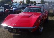 Flame red vette