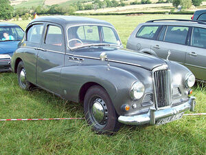 Sunbeam Talbot 90 Mk.IIA (1952-54), Engine 2267cc S4 OHV, at the 2011 Prescott VSCC Hillclimb, Gothrington, RK