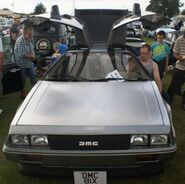 Delorean doors up
