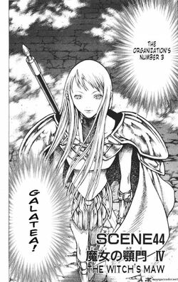 Claymore Chapter 44 Cover