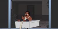 Cleveland's Bathtub Gag