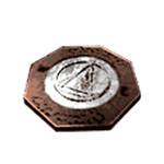 Rubrum medallion