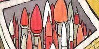 Rockets/Explosives
