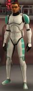 Teal Trooper armor