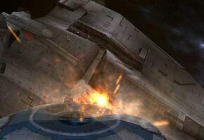 Droid Gunship Attack