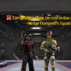 Commander Shox & Ryan Hope