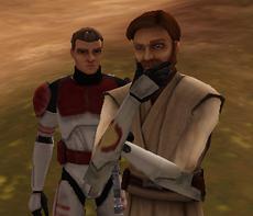 Luke and Obi-Wan