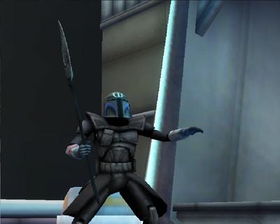 Commander Shox Character 45
