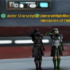 Commander Shox & Aster Starscepter