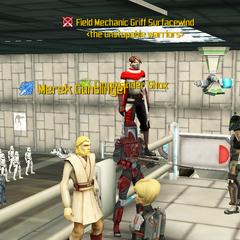 Commander Shox, Merek Gunslinger & Griff Surfacewind