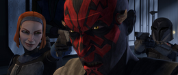 Maul is betrayed by Death Watch-SOR