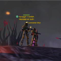 Commander Shox & Yomaget Trevhek