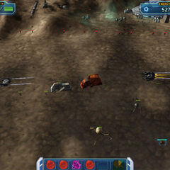 Tri Fighters and Vulture Droid Bombing Run o_o