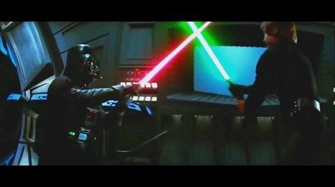 Star Wars Luke Skywalker vs Darth Vader vs Darth Sidious