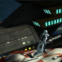 Glitching in Starfighter