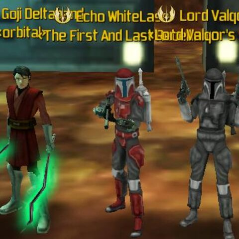 from left to right, Goji , Echo and Val