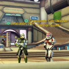 Commander Shox & Commander Calins1Warrior