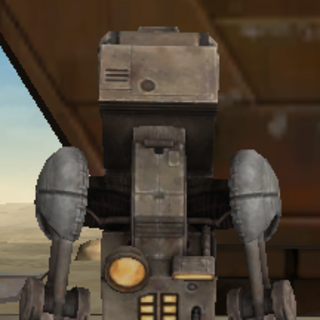 T7R0BL3 (TROUBLE), my service droid.