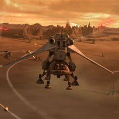 landing the tanks