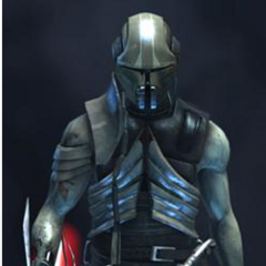 Darth Nox, a mysterious Sith Lord who wishes to posess the Dark Staff