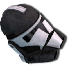 White Darkside Helmet from Sith Crates (can also be crafted.)