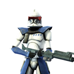 Lives in his Phase I Clone Trooper armor
