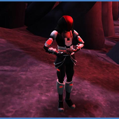Aron on Sith gear