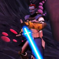 Dex fighting on umbara