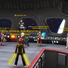Commander Shox, Jonas Whipclutcher, Commander Calins1Warrior, COMMANDO HARDCASE & Keless Steamseer