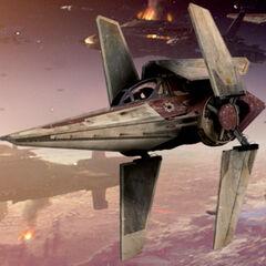 V- wing fighter