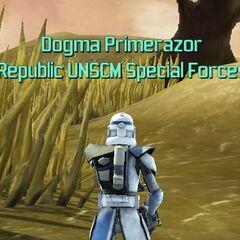Dogma glitching on Republic Defender