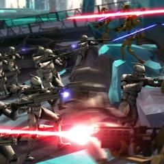 Jack's troops being ambushed