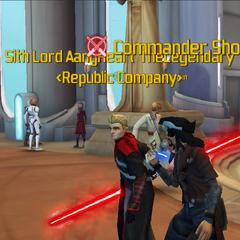 Commander Shox & AangHeart TheLegendary