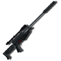 A'dens sniper rifle used to assassinate many targets