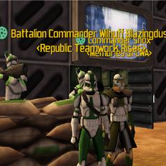 Commander Shox & Wilhuff Blazingdust