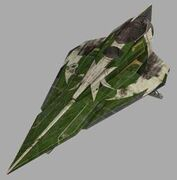 Delta-7B green