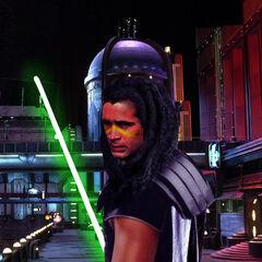 Qurhon Vos as a Jedi Knight.