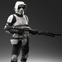 skirata scout trooper armor.