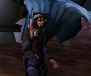 Commander Shox Character 77