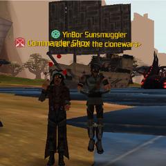 Commander Shox & YinBor Sunsmuggler