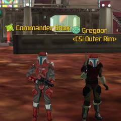 Commander Shox & Gregoor