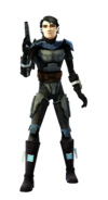 Savage disguised as a bounty hunter