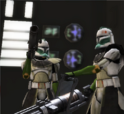 Wolf Squadron Troopers preparing for Assault
