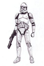 Clone Trooper by ChoppersInc
