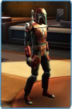 Nitroblade in his Mandalorian Armor