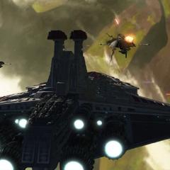 A'den's fleet blockades Felucia